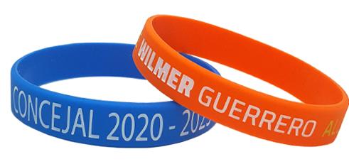 pulseras para campañas politicas